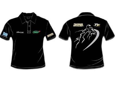 Συλλεκτικό μπλουζάκι polo Isle of Man από το Varadero Club Hellas για τον Ανδρέα Ψυχογυιό