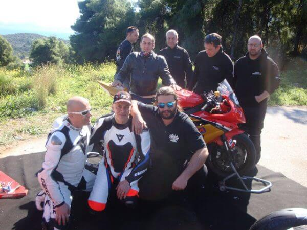 A video with Andreas Psychogyios motorcycle clubs for Isle of Man 2016