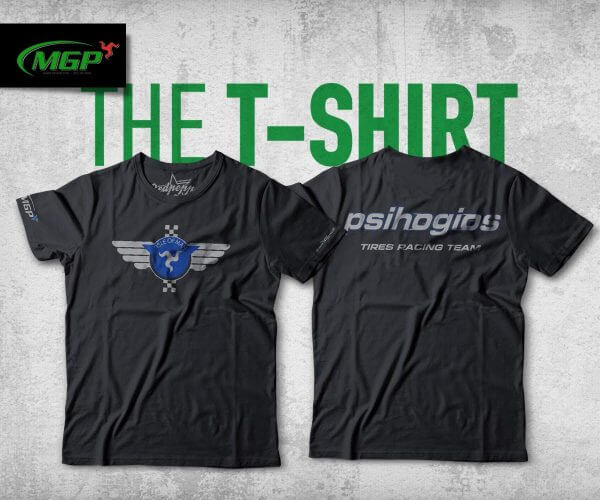 Collectible T-Shirt of Psihogios Tires Racing Team