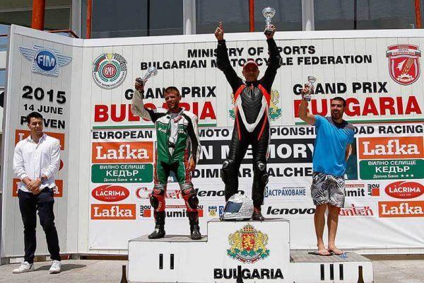 Andreas Psyhogios winner of the Balkan championship in Bulgaria